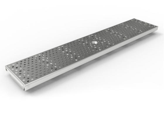 China No Noise Stainless Steel Trench Drains , Stainless Steel Stormwater Grates Low Power Consumption supplier
